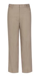 Boys Flat Front Twill Pants