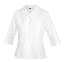 3/4 Sleeve Princess Poplin Blouse, embroidered (Atonement)
