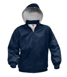Nylon Rain Jacket Hood (NVY)