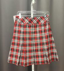 Drop Waist Multi-Pleat Skirt (Atonement)