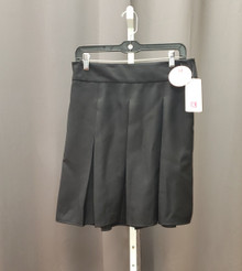 Skirt Black Box Pleat