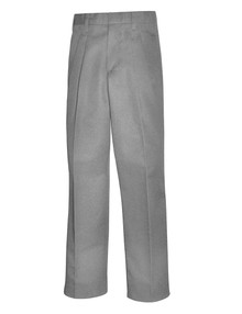 Relaxed Fit Pleated Twill Pants