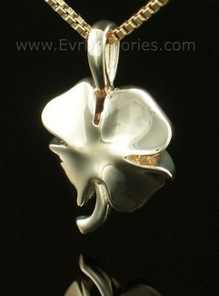 14K Gold 4 Leaf Clover Jewelry Urn