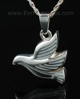 Dove Flying Jewelry Urn