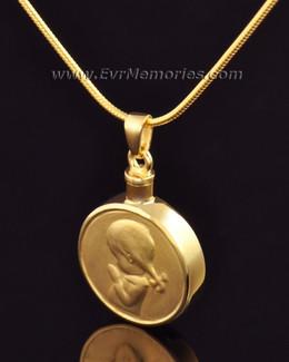 "Gold Vermeil ""Girl"" Jewelry Urn"