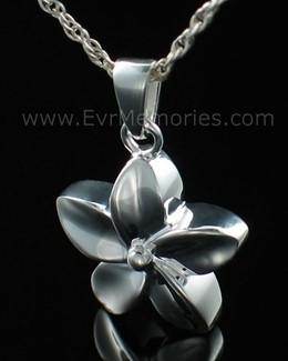 Sterling Silver Flower Funeral Jewelry