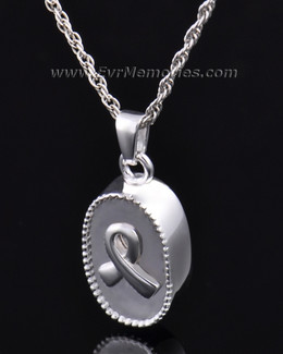 Breast Cancer Ribbon Cremation Keepsake