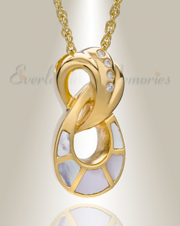 14K Gold Plated Everlasting Infinity