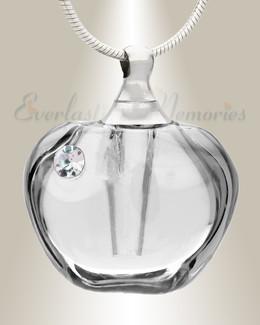Glass Locket Dawn Cremation Charm