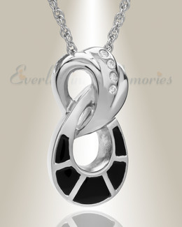 Sterling Silver Everlasting Infinity Jewelry Urn