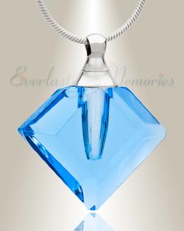 Glass Locket Joy Necklace Urn