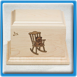 Rocking Chair Infant Urn