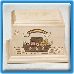 Noah's Ark Infant Urn