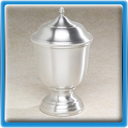 Regal Pewter Urn