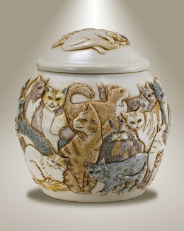 Felinicity Pet Cremation Urn