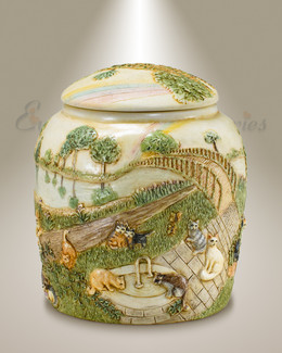 Faithful Feline Pet Cremation Urn