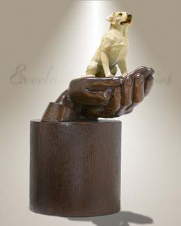 Companions Yellow Labrador Pet Urn