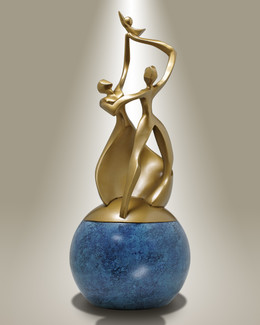 Dance of Life Child-Bronze