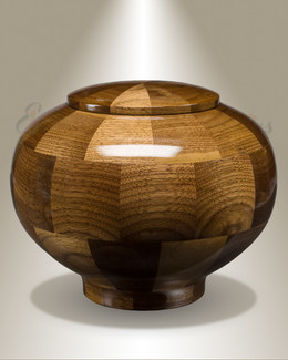Wisdom Urn in Black Walnut-Large