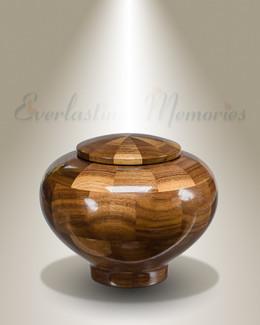 Small Wisdom Urn in Black Walnut