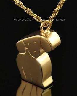 Gold Plated Best Friend Dog Memorial Locket