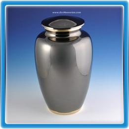 Divine Ebony Cremation Urn