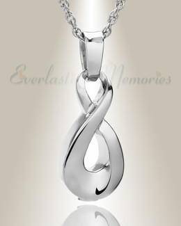 Sterling Silver Always Cremation Locket