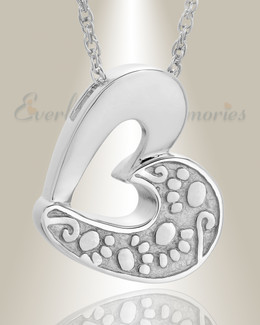 Sterling Silver Tender Memory Pet Cremation Jewelry
