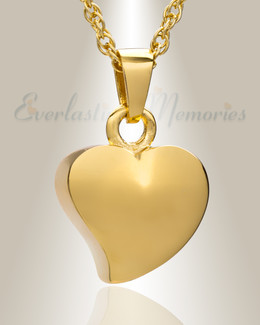 14k Gold Dear Heart Ash Jewelry