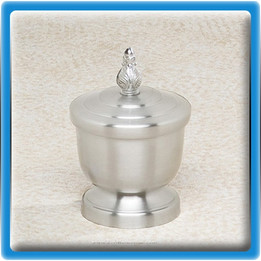 Tributary Pewter Urn