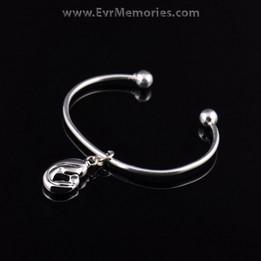 Sterling Silver Forever Love Cremation Bracelet