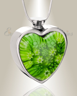 Irish Yearning Heart Cremation Locket