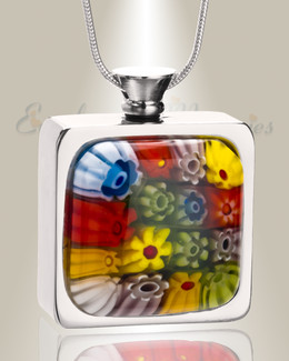 Rainbow of Memories Cremation Locket