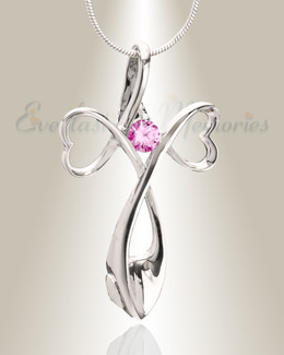 Pink Peaceful Moments Memorial Jewelry