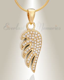 Gold Plated High Spirits Memorial Jewelry