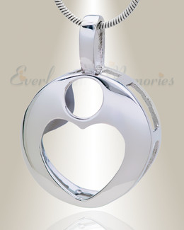 Heart of Reflection Memorial Jewelry