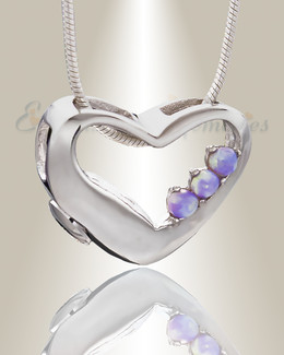 Thrilling Heart Memorial Jewelry