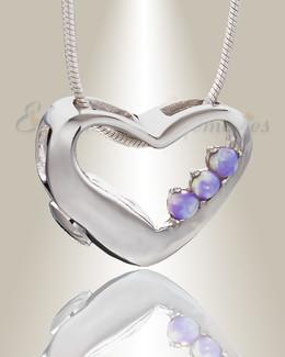 Thrilling Heart Memorial Jewelry