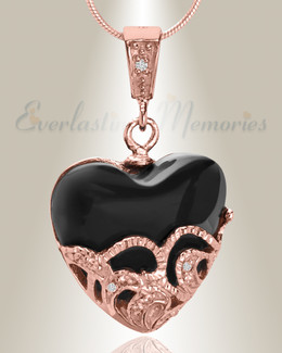 Rose Gold In My Dreams Cremation Jewelry