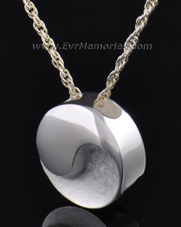 Silver Togetherness Round Jewelry Pendant
