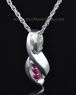 Sterling Silver Wrapped in Love Memorial Locket