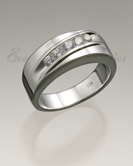 Men's Silver Wondrous Memorial Ring