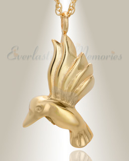 Gold Plated Gliding Memories Keepsake