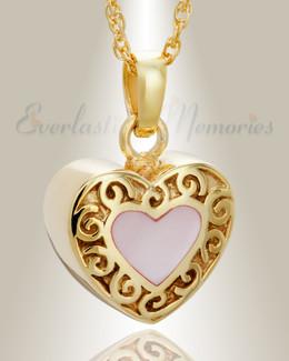 Gold Plated Tender Emotions Heart Keepsake