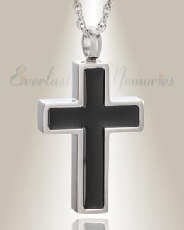 Stainless Steel Honor Cross Pendant Keepsake