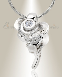 Radiant Rose Memorial Jewelry