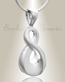 Silver Always Cremation Jewelry