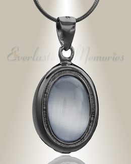 Black Passionate Cremation Jewelry