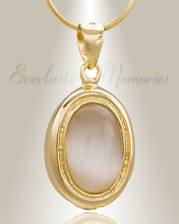 Gold Plated Passionate Cremation Jewelry