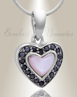 Silver Longing Cremation Jewelry